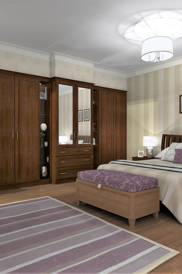 Brightened bedroom with soft shadow - Bedroom created in Virtual Worlds
