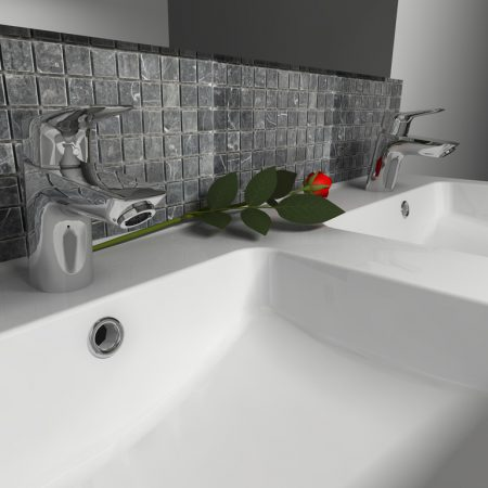Zoomed Sink Render
