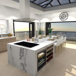 Lighthouse Kitchen - Design Hub image created in Virtual Worlds